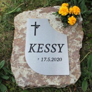 Náhrobek velký Kessy květina