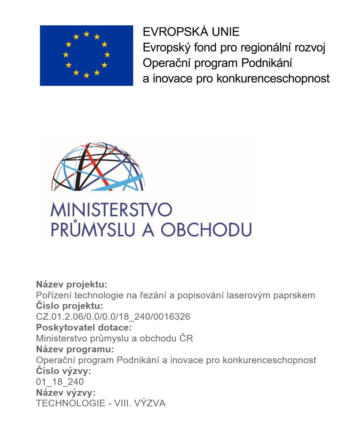 EU - pořízení technologie